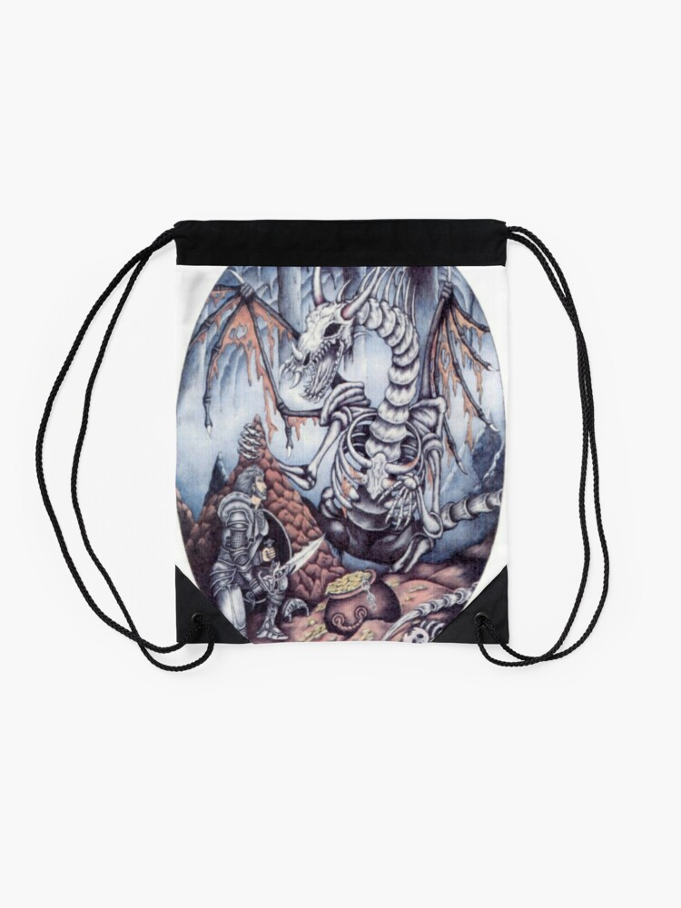 Alternate view of Dragon Slayer  Drawstring Bag