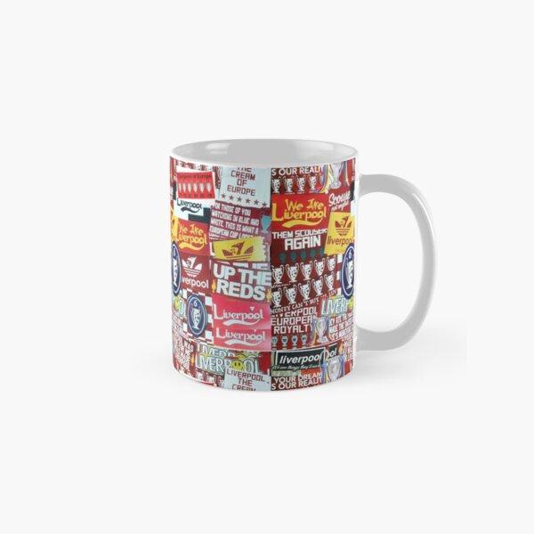 Liverpool 6 x Winner Multi Sticker Artists Impression Classic Mug