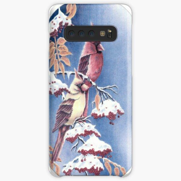 Two Cardinals  Samsung Galaxy Snap Case