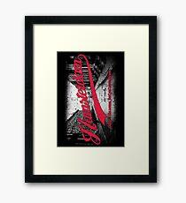 Hamsterdam - Cloud Nine Edition (Red) Framed Print