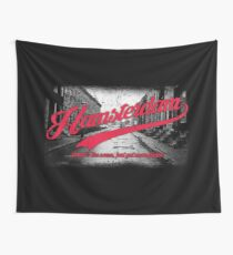Hamsterdam - Cloud Nine Edition (Red) Wall Tapestry