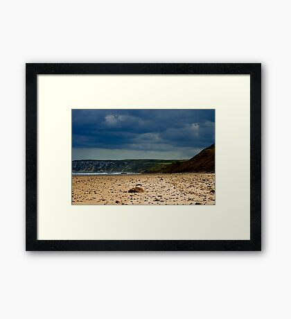 Hunmanby Gap, North Yorkshire Framed Print