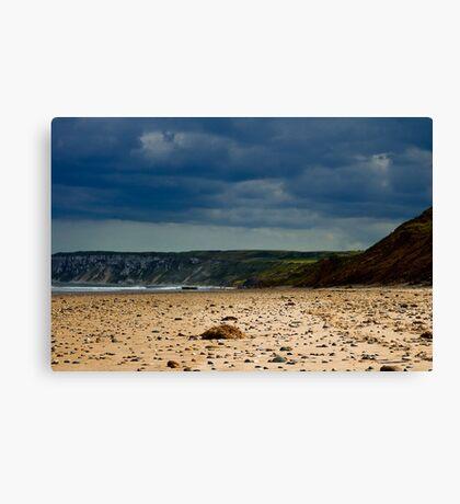 Hunmanby Gap, North Yorkshire Canvas Print