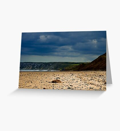 Hunmanby Gap, North Yorkshire Greeting Card