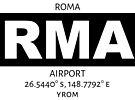 Roma Airport RMA by AvGeekCentral