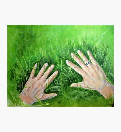 Green fingers Photographic Print