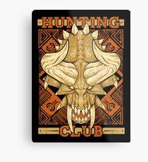 Hunting Club: Diablos Metal Print