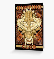 Hunting Club: Diablos Greeting Card