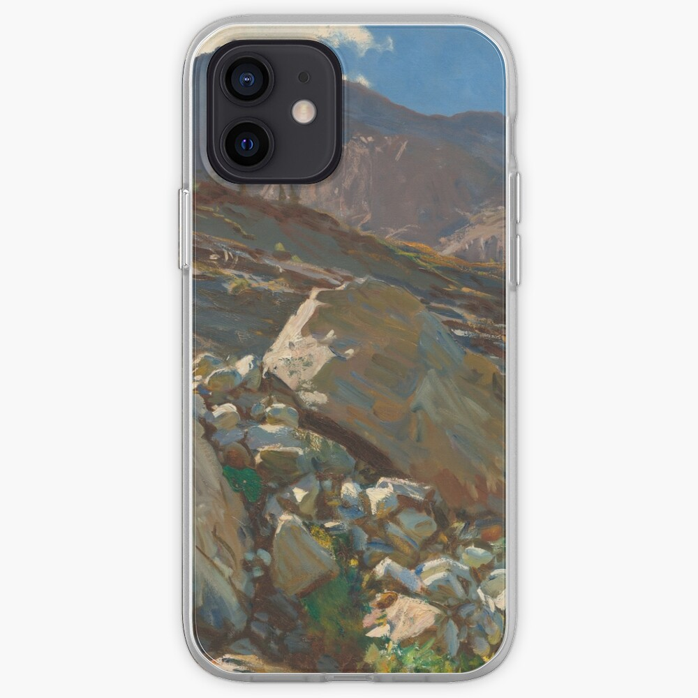 Simplon Pass Oil Painting by  John Singer Sargent iPhone Case & Cover