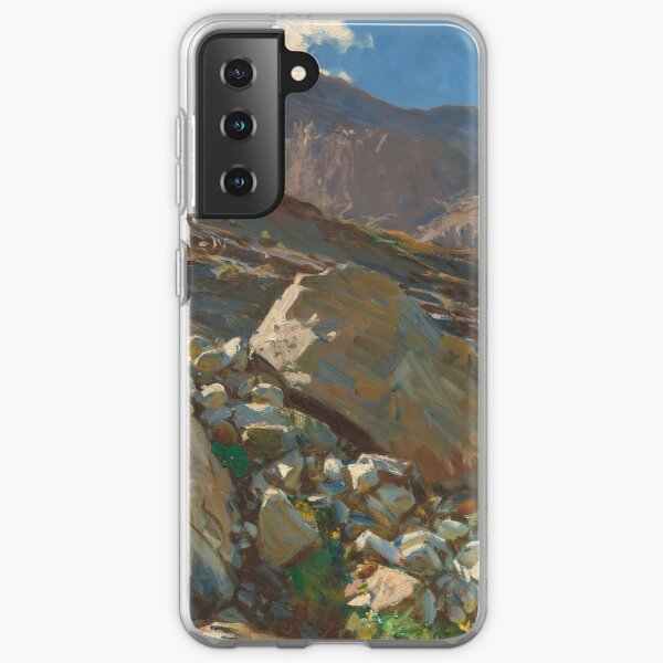 Simplon Pass Oil Painting by  John Singer Sargent Samsung Galaxy Soft Case