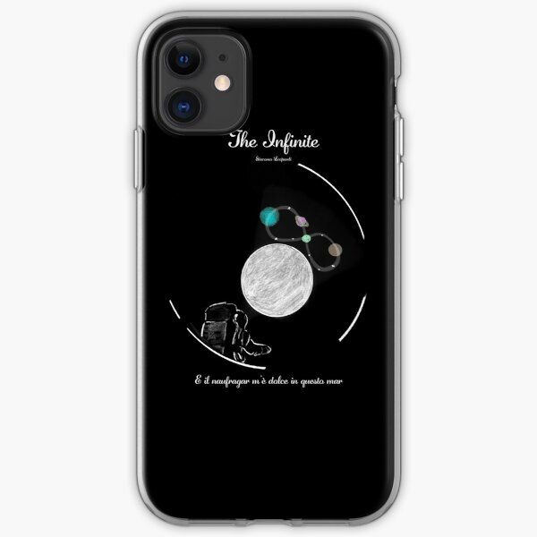 Giacomo Leopardi - The Infinite in space  iPhone Soft Case