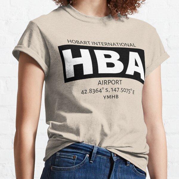 Hobart International Airport HBA Classic T-Shirt