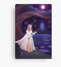 Of Swords and Stories Canvas Print