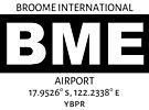 Broome International Airport BME by AvGeekCentral