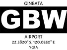 Ginbata Airport GBW by AvGeekCentral