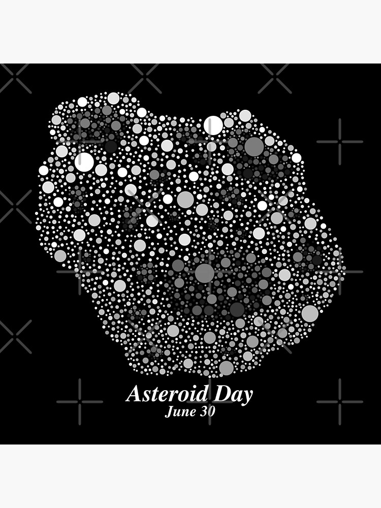 Asteroid In Dots - Asteroid Day 2019 by BundaBear
