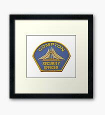 Compton Security Framed Print