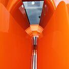 Car fantasy in orange by Elspeth  McClanahan