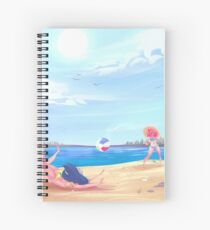 Splashes and Crashes Spiral Notebook