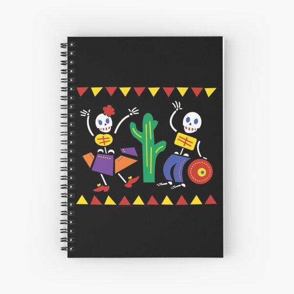 Dia de los Muertos - Mexican Day of the Dead Spiral Notebook