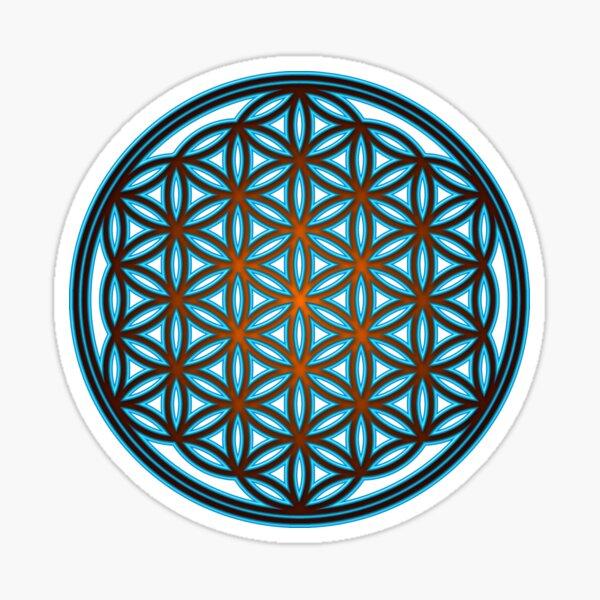 FLOWER OF LIFE - SACRED GEOMETRY - HARMONY & BALANCE Sticker