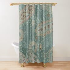 Sage and Paisley II Shower Curtain