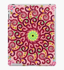 Jellyfish Maroon mandala iPad Case/Skin