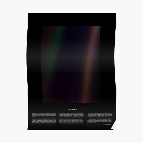 Pale Blue Dot Nasa x Carl Sagan Poster