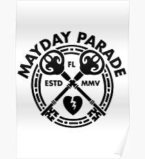 Mayday Parade Key (Dark) Poster