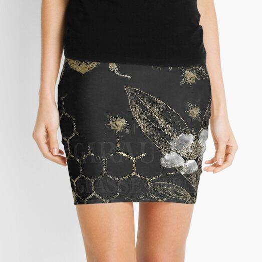Bee Happy Mini Skirt