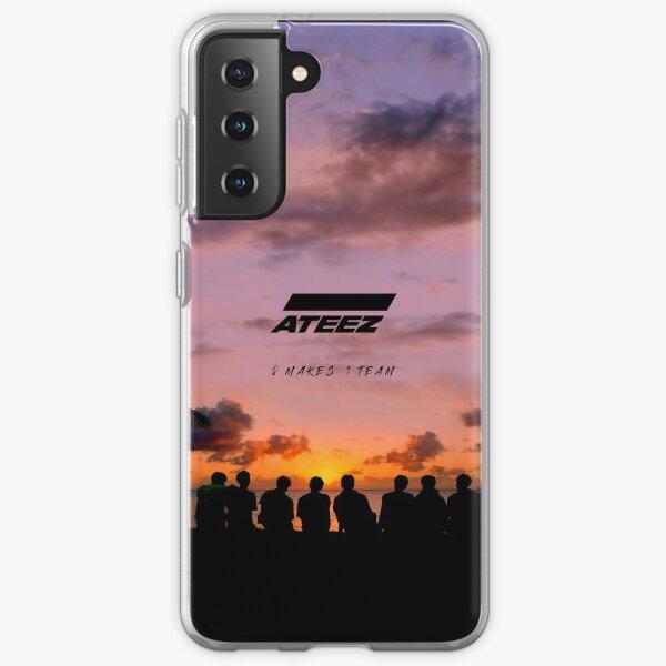 ATEEZ 8 FAIT 1 ÉQUIPE Coque souple Samsung Galaxy