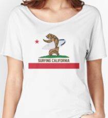 Surfing California Women's Relaxed Fit T-Shirt