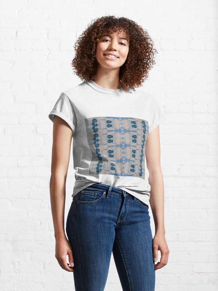 Alternate view of #Design, #pattern, #abstract, #art, illustration, shape, decoration, mosaic, square, futuristic, tile, modern Classic T-Shirt