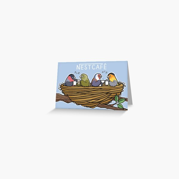 Nestcafe Greeting Card