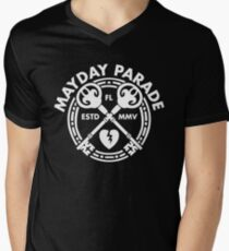 Mayday Parade Key (Light) Men's V-Neck T-Shirt