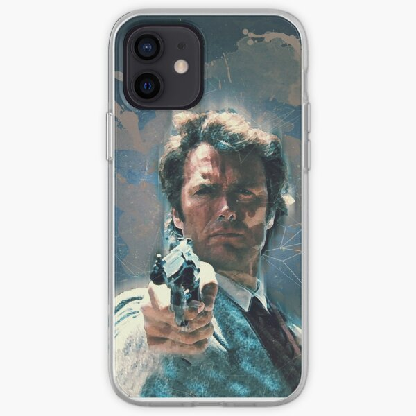 Dirty Harry vintage art iPhone Soft Case