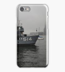 misty water front iPhone Case/Skin