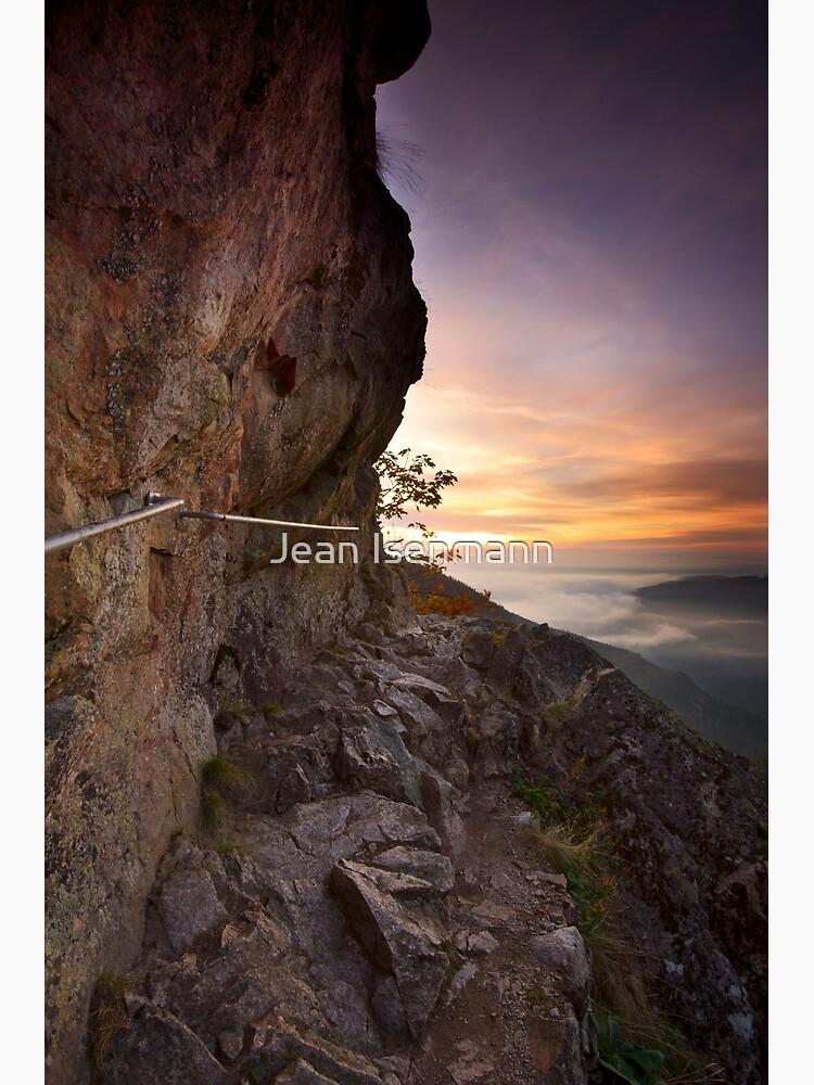 «Sentier des Roches à l'aube» par Isenmann