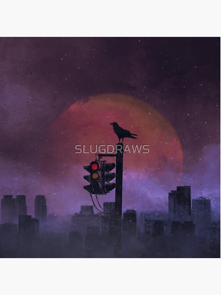 The Raven by SLUGDRAWS