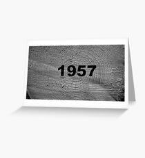 time machine! Greeting Card