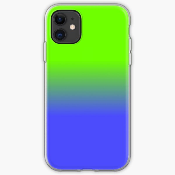 Fluorescent Neon Blue Iphone Cases Covers Redbubble