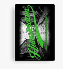 Hamsterdam - Cloud Nine Edition (Green) Canvas Print