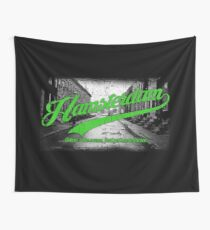 Hamsterdam - Cloud Nine Edition (Green) Wall Tapestry