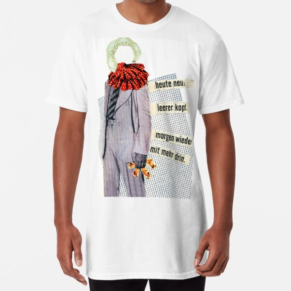 new today, empty head Long T-Shirt