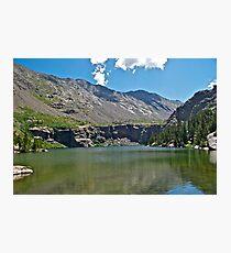 Willow Lake Photographic Print