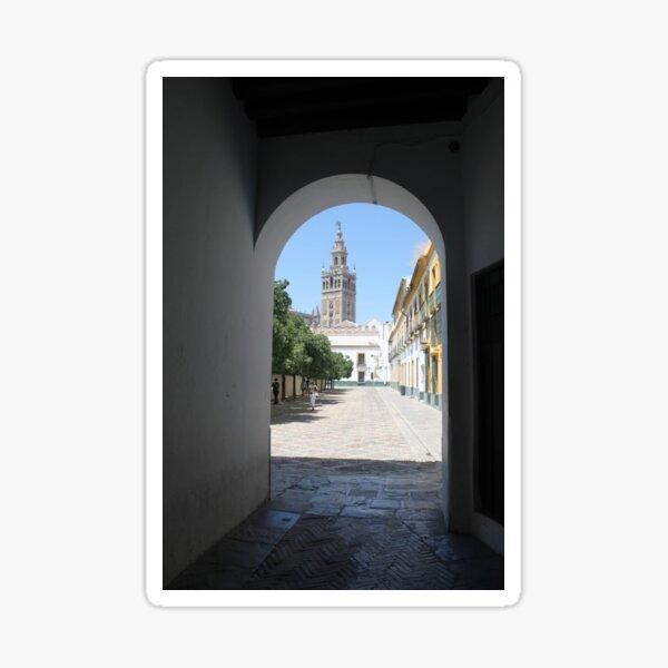 #Giralda, #Catedral de #Sevilla, #Spain, La Giralda, Tower Sticker