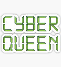 Cyber Queen Sticker