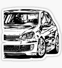 Volkswagen Golf Gtd Stickers | Redbubble