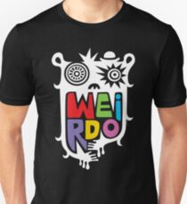 Big Weirdo - on black Unisex T-Shirt