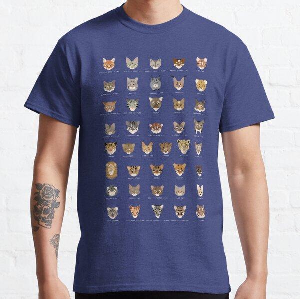 Cat Species (no subspecies) Shirt Classic T-Shirt